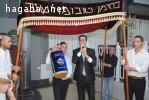 טקס עליה לתורה בבית כנסת, בר מצווה בישראל, שופרות מתופפים