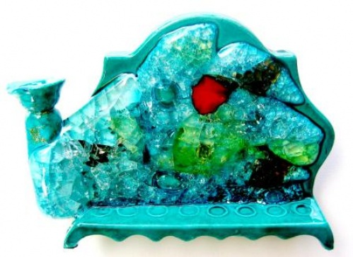 Chanukah -Handmade Ceramic and Glass (53)