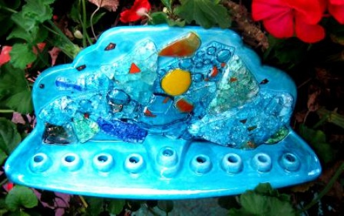 Chanukah -Handmade Ceramic and Glass (45)