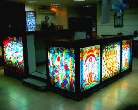 Amit, Teivat Hazan -Bamah-Art Work to Synagogue